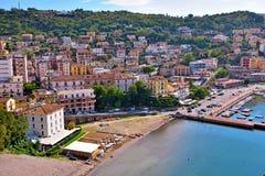 Agropoli Salerno Włochy obraz stock