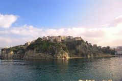 Agropoli village, Italy Stock Photos