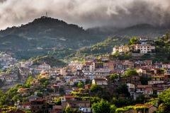 Agros wioska na górze Troodos gór Limassol okręg Obraz Royalty Free