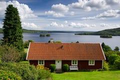 Agrotourism w Szwecja Zdjęcia Royalty Free