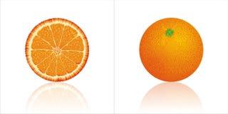 Agrume di Orange_fruit Immagini Stock Libere da Diritti
