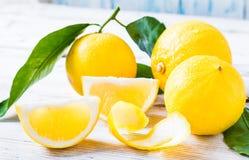 Agrumes de bergamote d'Italie du sud photos libres de droits