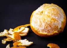 Agrumi arancio del mandarino Immagini Stock Libere da Diritti