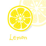 Agrumi di vettore del limone Fotografia Stock