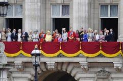 Agrupando-se a cor, Londres 2012 Fotos de Stock