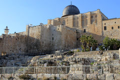 agsa al meczetu widok Obraz Stock