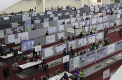 Geophysics conference posters session Stock Image