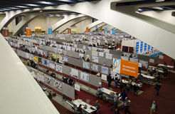 Agu posters 2011 at Moscone Center Stock Image