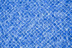 Agua 3 de la piscina Imagen de archivo libre de regalías