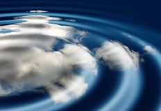 Agua abstracta fotografía de archivo