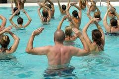 Agua aerobia Imagen de archivo libre de regalías