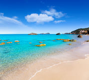 agua aiguas plażowy blanca blanques ibiza Zdjęcia Royalty Free