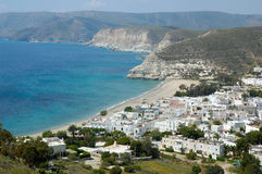 Agua Amarga. Is a little town in Almeria Andalucia Spain Royalty Free Stock Photos