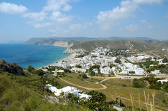 Agua Amarga. Is a little town in Almeria Andalucia Spain Stock Photography