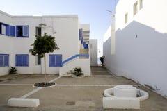 Agua amarga, cabo de Gata, Andalusia, Spain, Europe domy Obraz Royalty Free