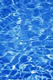 Agua azul Foto de archivo libre de regalías