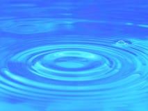 Agua azul Fotografía de archivo libre de regalías