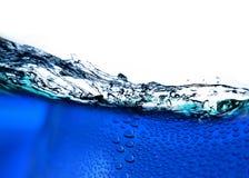 Agua azul Imagen de archivo libre de regalías