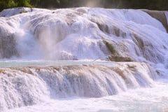 Agua azul cascades V Royalty Free Stock Images