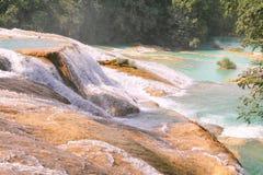 Agua azul cascades XI Royalty Free Stock Photo