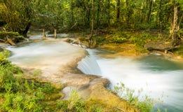 Agua Azul Chiapas Μεξικό Στοκ εικόνες με δικαίωμα ελεύθερης χρήσης