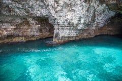 Agua azul clara Foto de archivo libre de regalías