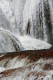 agua azul Mexico siklawa Fotografia Stock