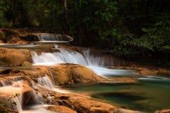 Agua Azul siklawy Zdjęcie Royalty Free