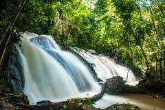 Agua Azul siklawy - Chiapas, Meksyk Fotografia Royalty Free
