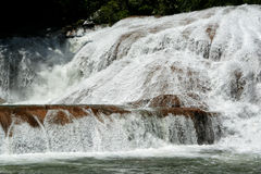 Agua Azul waterfall, Mexico. Agua Azul Waterfall near Palenque, Mexico stock photo