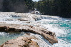Agua Azul waterfalls, Chiapas, Mexico Stock Photos