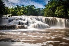 Agua Azul Waterfalls - Chiapas, Mexico Royalty Free Stock Photos