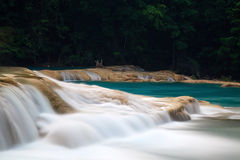 Agua Azul Waterfalls Stock Images