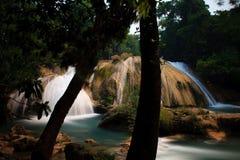 Agua Azul Waterfalls Royalty Free Stock Photos