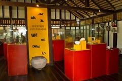 Agua Blanca Museum in Machalilla National Park Royalty Free Stock Photos