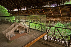 Agua Blanca Museum in Machalilla National Park Royalty Free Stock Images