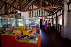Agua Blanca Museum in Machalilla National Park Royalty Free Stock Photo