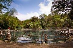 Agua Blanca muzeum w Machalilla parku narodowym Obrazy Stock