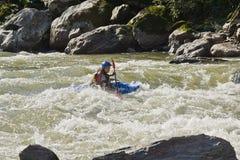 Agua blanca Zamora Kayaking Ecuador Fotografía de archivo