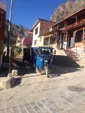 A tricycle in Caliente, Peru Stock Image