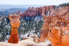 Agua Canyon, Bryce Canyon on sunshine Royalty Free Stock Photos