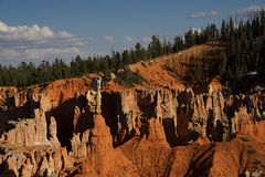 Agua Canyon A. Agua Canyon Overlook in Bryce Canyon National Park, Utah stock photos