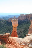 Agua Canyon. Agua Point, Bryce Canyon National Park, Utah royalty free stock photos