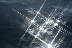 Agua chispeante imagen de archivo libre de regalías