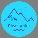 Agua clara Imagenes de archivo