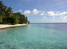 Agua clara del océano Fotografía de archivo