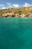 Agua clara del torquoise Foto de archivo