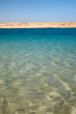 Agua clara fresca del Mar Rojo en Egipto Imágenes de archivo libres de regalías