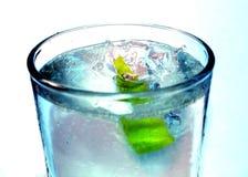 Agua con la cal Imagen de archivo libre de regalías
