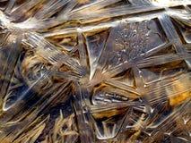 Agua congelada imagen de archivo